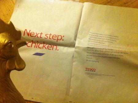 Chicken are next