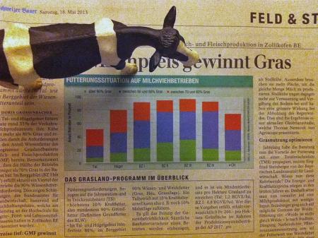 Fütterungssituation von Schweizer Betrieben