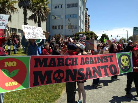March against Monsanto Eureka