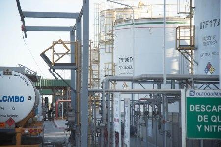 Soja-Biodieselanlage bei Rosario