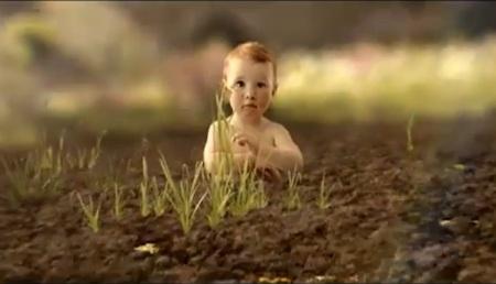 Glyphosat-Baby
