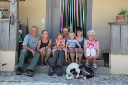 Familie Sprunger Porträt
